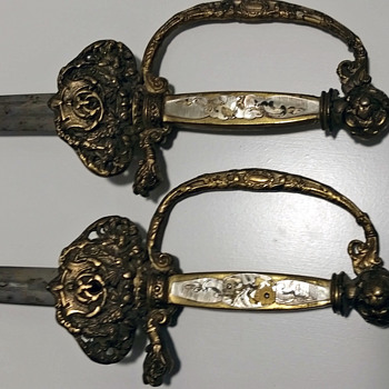 Help identifying two swords - Military and Wartime