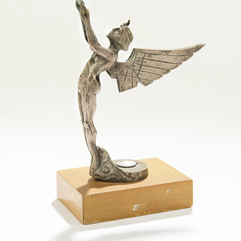Egyptian Winged Goddess, Circa 1920-25 by Fadi Cajani