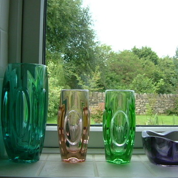 Sklo Union or My Kitchen Windowsill - Art Glass
