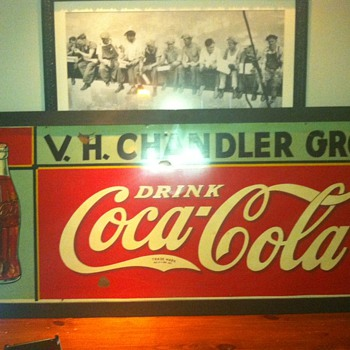 1930 Coke Sign?? - Coca-Cola