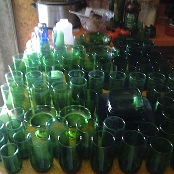 green glass bonanza