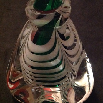 Strange vase - Art Glass