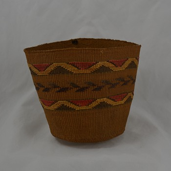 Small Native Basket - Fragile Tlingit Maybe? - Native American