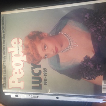 i love lucy mag - Advertising