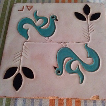 CERAMIC TILE - Art Pottery