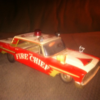 '63 Ford Galaxie Battery Operated Toy Car - Model Cars