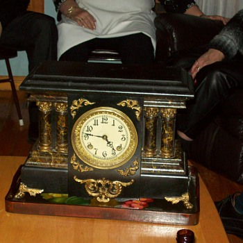 What year my New Haven clock might have been made... - Clocks