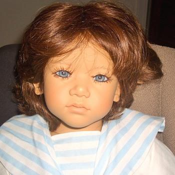An Estate Sale find: A doll signed Himstedt