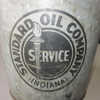 Standard Oil Axle Grease Large Tin  - Advertising