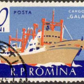 "1961 - Romania ""Ships & Boats"" Postage Stamps - Stamps"