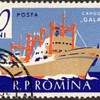 """1961 - Romania """"Ships"""" Postage Stamps"""
