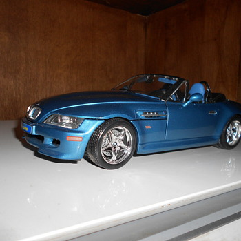 Old Bmw Z3 - Model Cars