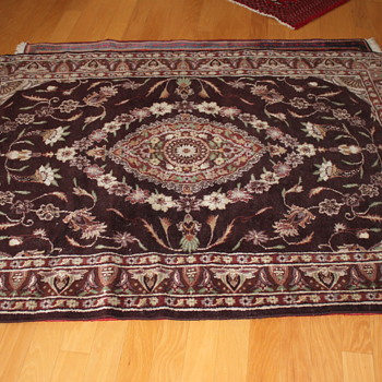 Hand Knotted Silk Rug - Rugs and Textiles