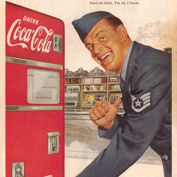 1952 - Coca Cola Advertisement