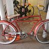 1950s Montgomery Ward Bicycle - Dumpster Find