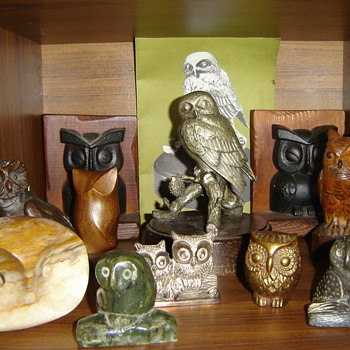 OWLS!! - Art Pottery