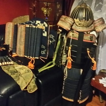 Samurai Japanese Armor  - Asian