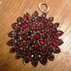 Garnet Star pendant