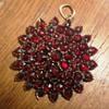 Garnet Star pendant