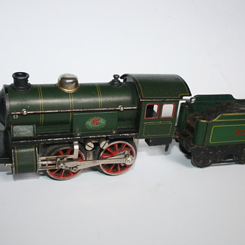 Doll & Cie Electric train 1930 - Model Trains