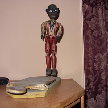 the dancing minstrel - Folk Art