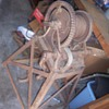 Antique Winch with Stand