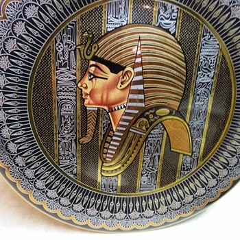KING TUT WALL PLAQUE - Visual Art