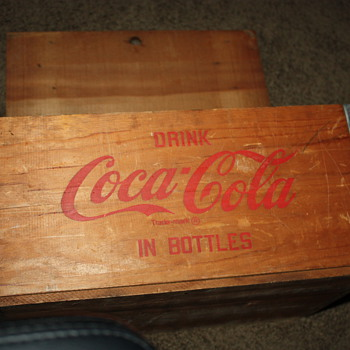 coca cola crate - Coca-Cola