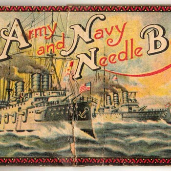 Army & Navy Needle Book - Czechoslovakia - Sewing