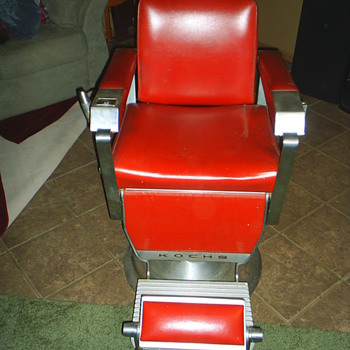 1962 Kochs Barber Chair - Furniture
