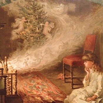 More Victorian Christmas scrap book images