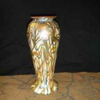 ART GLASS VASE-  - Art Glass