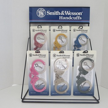 Smith & Wesson Handcuff Store Display Counter Stand