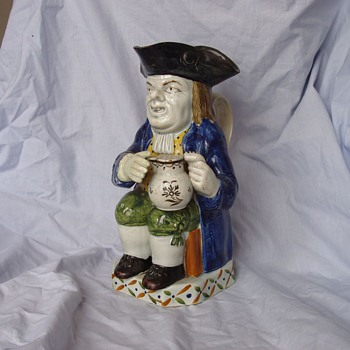 Toby Jug, Pratt, about 1795 - Art Pottery