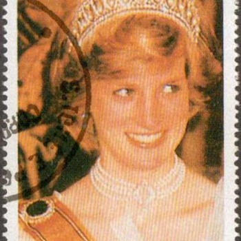 "1997 - St. Thomas & Prince Islds. - ""Princess Diana"" Postage Stamps"