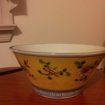 Favorite yellow bowl