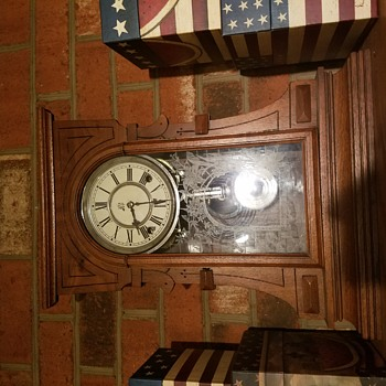 My Waterbury Mantle Clock - Clocks