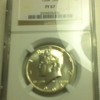 1964 JFK Half Dollar