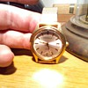 old? caravelle wind up watch,..cool strange soundign french movement in it