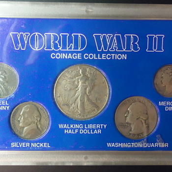 THE  WORLD WAR II-COINAGE COLLECTION. - US Coins