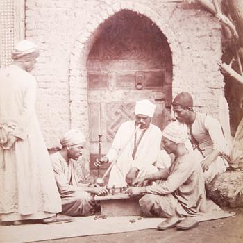 Original Hippolyte Arnoux photograph circa 1880