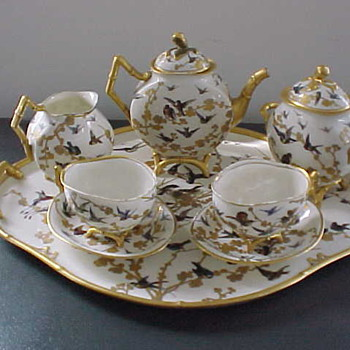 Sevres Porcelain Royal Service Tea Set 