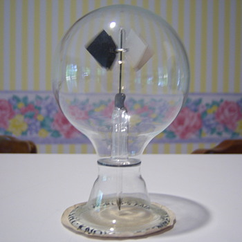1982 Knoxville World's Fair Crookes Radiometer