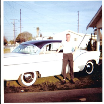 My 1955 Ford Fairlane Two Door Hard Top, Tri Tone Paint - Classic Cars