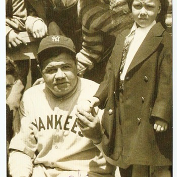 Babe Ruth Post card - Baseball