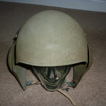 WWII US Army Air Corps M-5 Bomber Crew Flak Helmet 