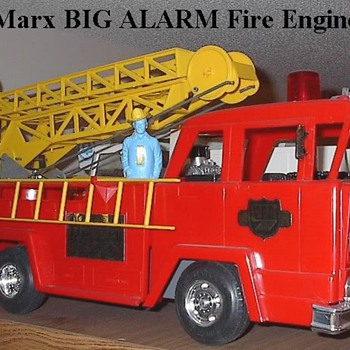 MARX BIG ALARM Fire Engine - Firefighting
