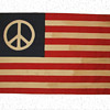 Original Hippie Peace Flag from Kent State 1970
