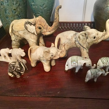 My parade of elephants - Animals