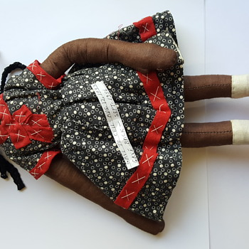 African American cloth doll